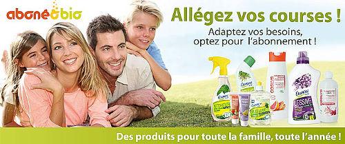 produits bio pour la maison pour eviter la pollution intérieure