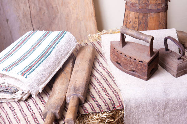 Les origines du linge de table