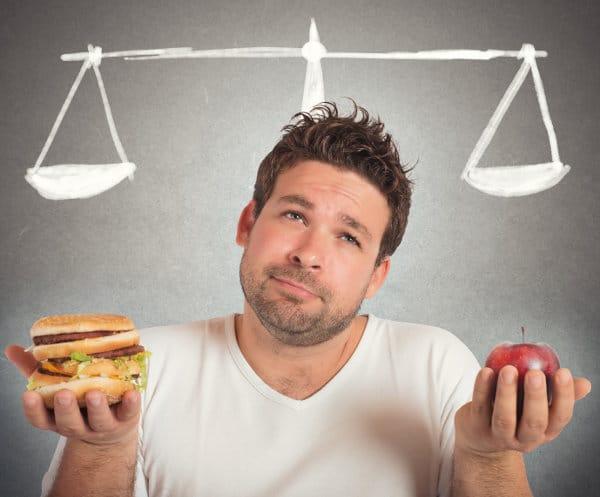 Equilibre alimentaire et apport de calories pleines et vides