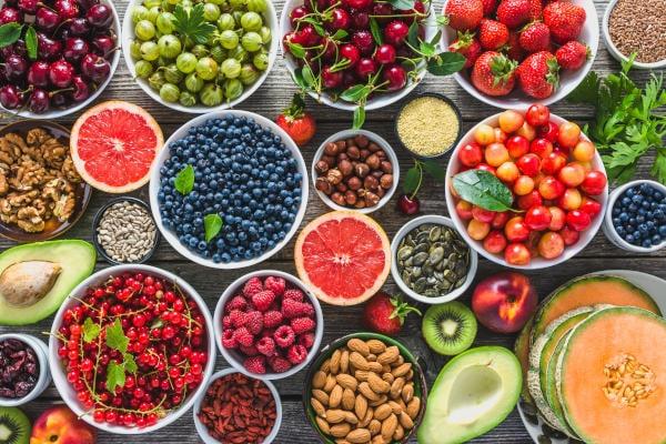 fruits et oléagineux