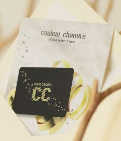 Carte Cadeau - Couleur Chanvre