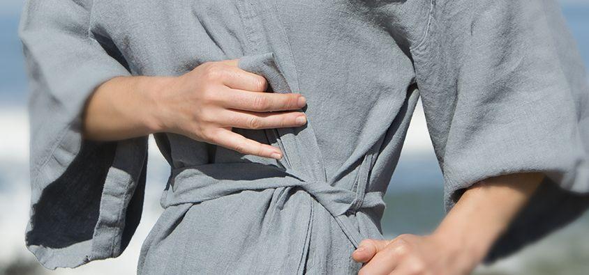 Kimono illustration 3 - Couleur Chanvre