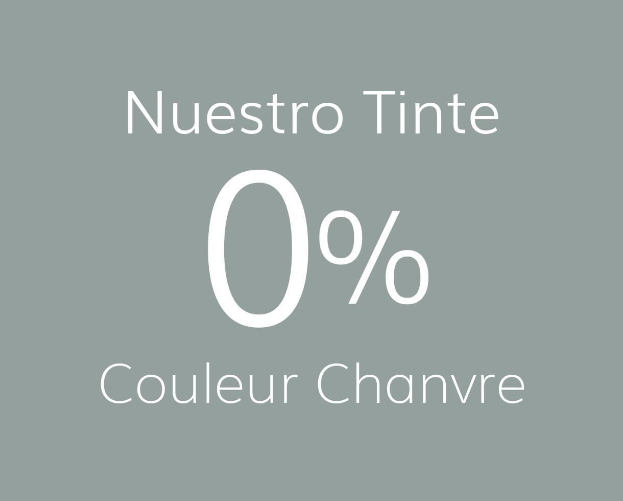 set de 6 manteles de lino con bies negros - Couleur Chanvre