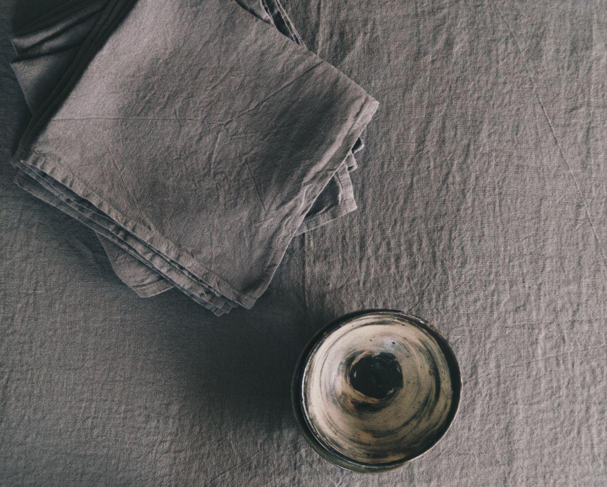 Stoffservietten aus Leinen - Couleur Chanvre