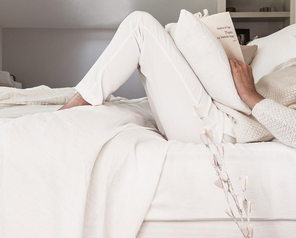 Spannbettlaken aus reinem hanf - Couleur Chanvre