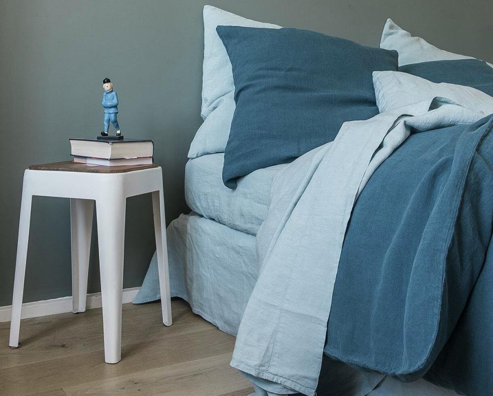 Pure hemp fitted sheet - Couleur Chanvre