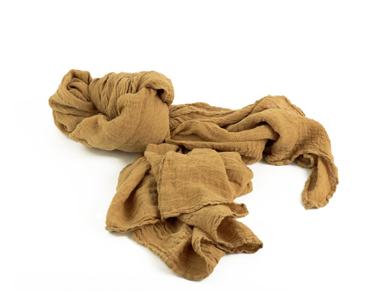 Hemp shawl Cumin - Couleur Chanvre