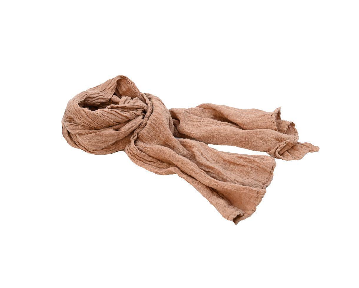 Hemp shawl Sand Rose - Couleur Chanvre