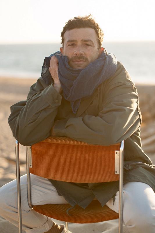 Hemp shawl - Couleur Chanvre