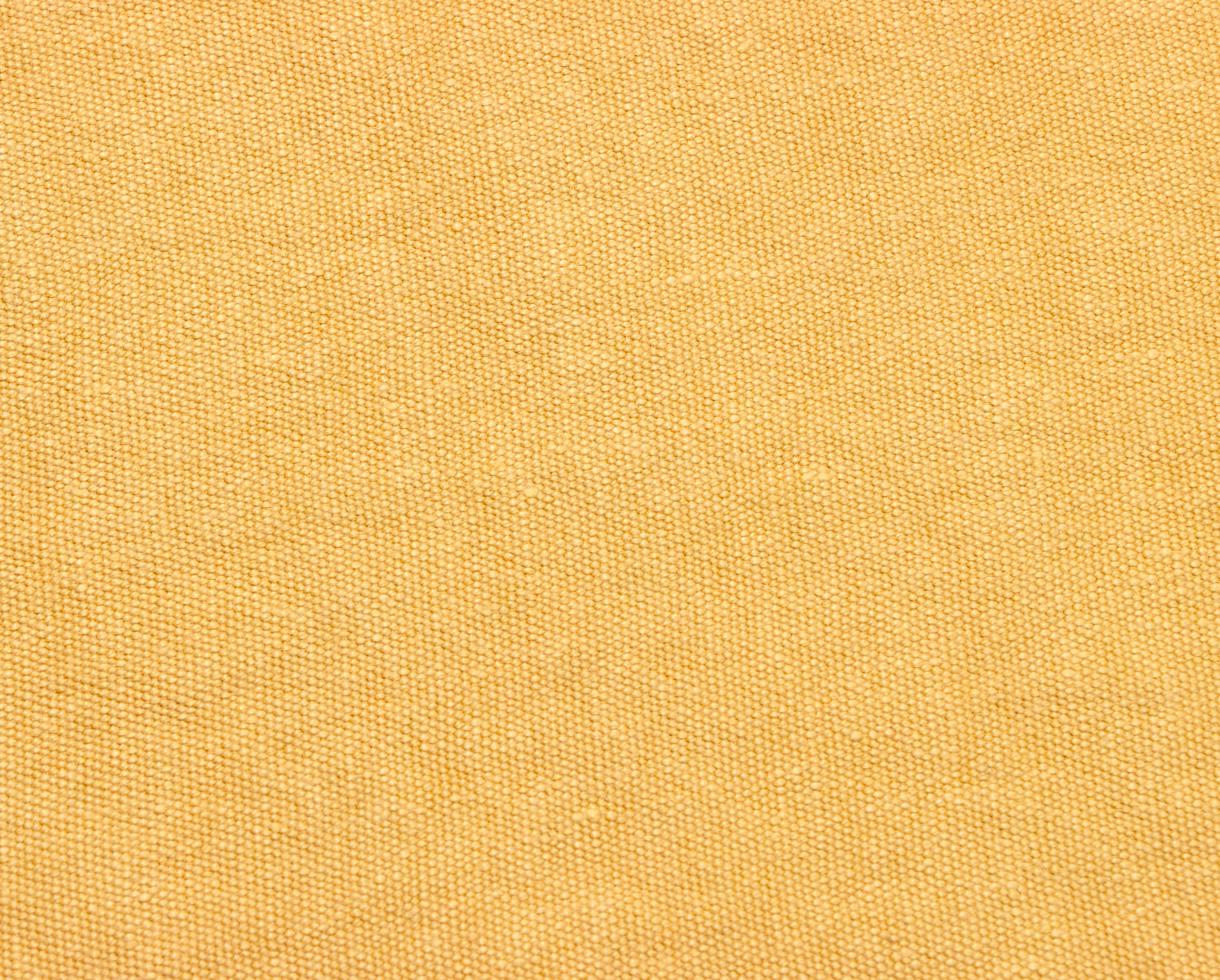 Leinvorhang 500g/m² Neapel-Gelb - Couleur Chanvre