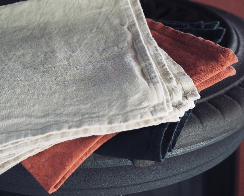 Einfaches handtuch aus lein - Couleur Chanvre