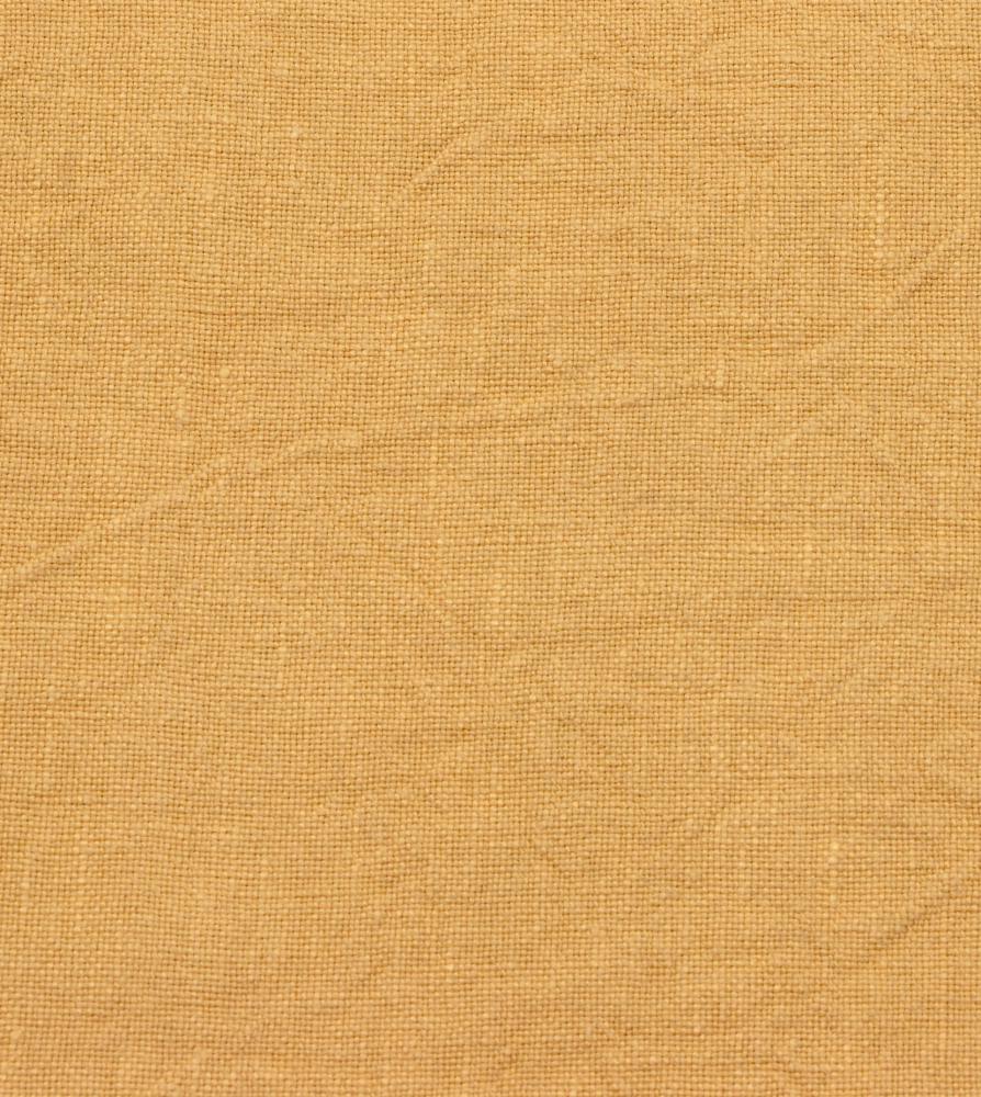 Pan de lin 270gr/m2 Jaune de Naples - Couleur Chanvre