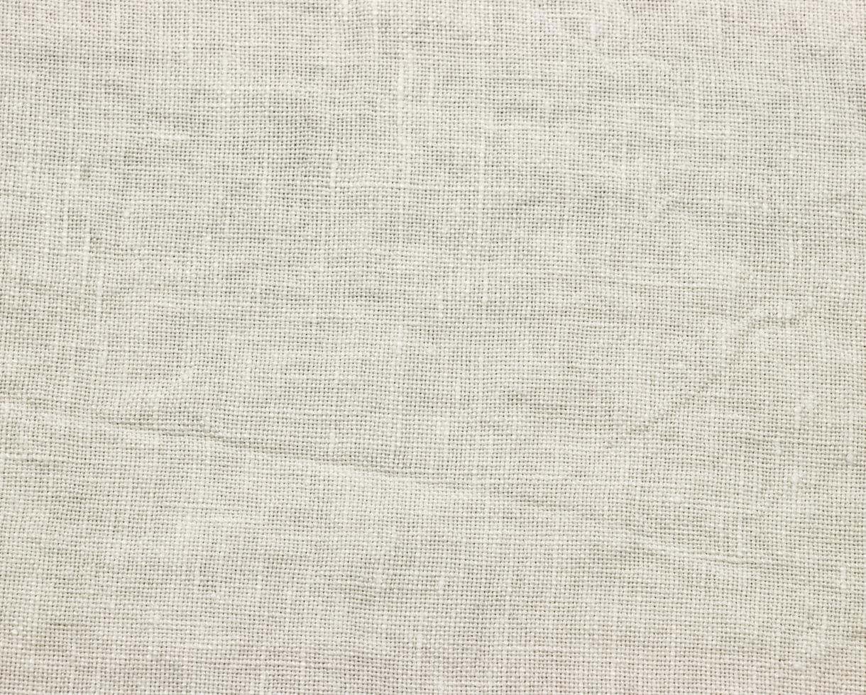 Piece of linen 270g/m² White Limestone - Couleur Chanvre