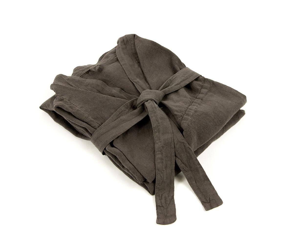 Kimono en Lin Orage - Couleur Chanvre