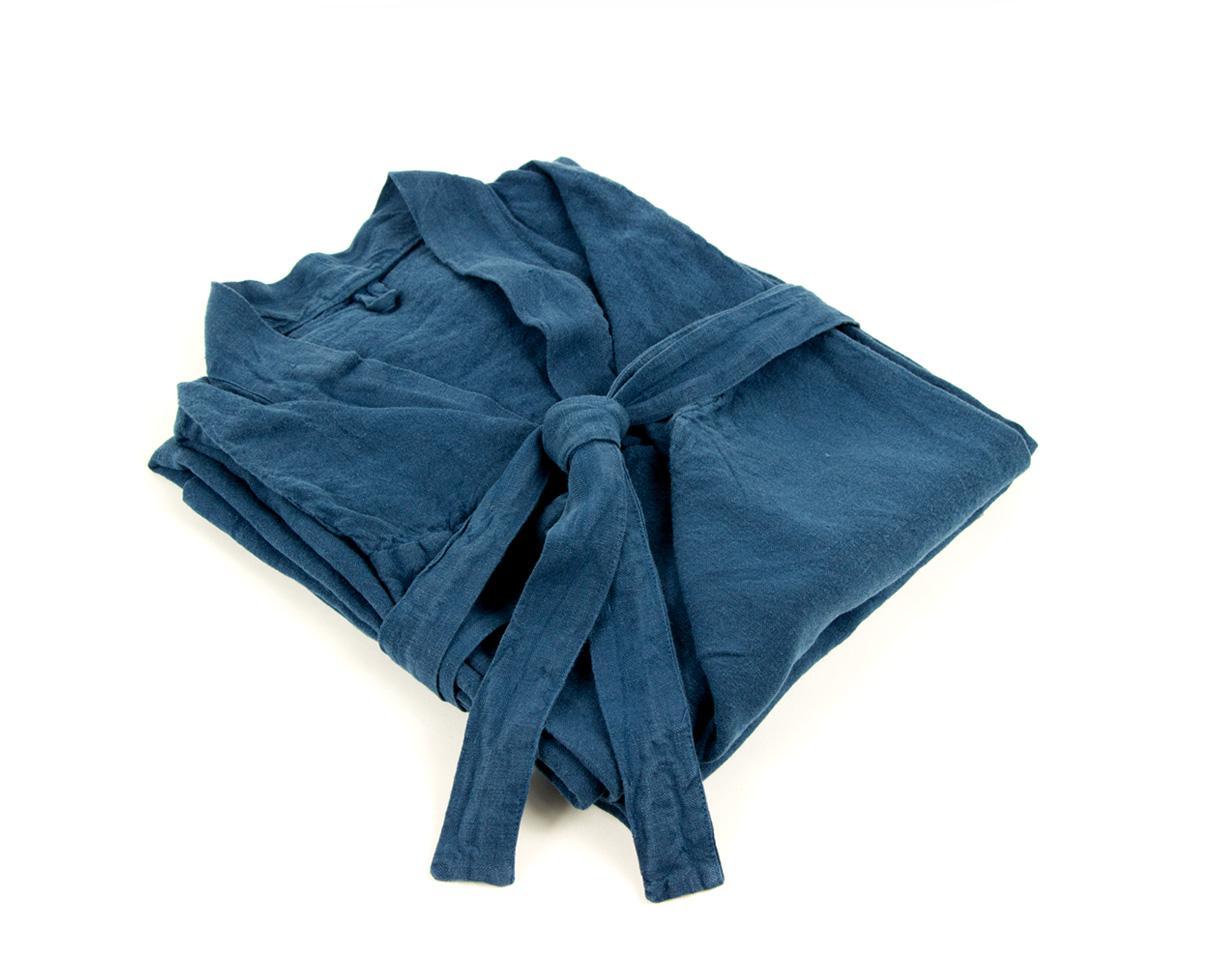 Kimono en lino Azul de Nîmes - Couleur Chanvre