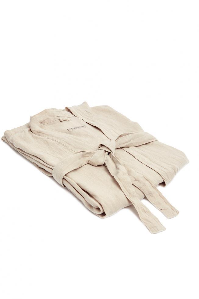Linen Kimono Clay - Couleur Chanvre