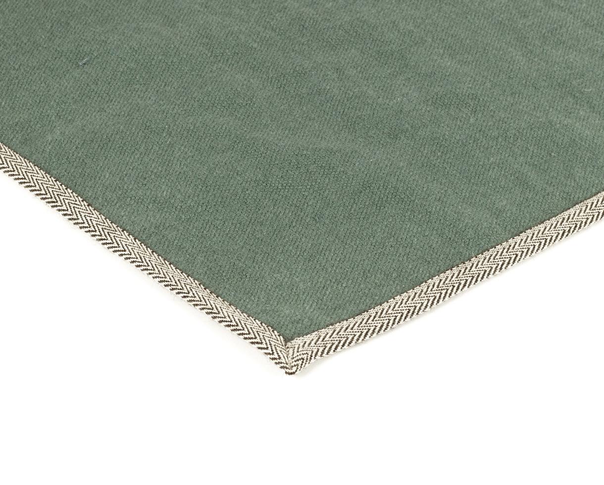 linen carpet Jade - Couleur Chanvre