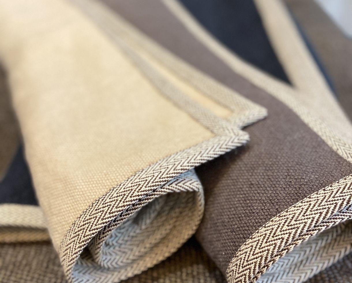 alfombra de lino Arcilla - Couleur Chanvre