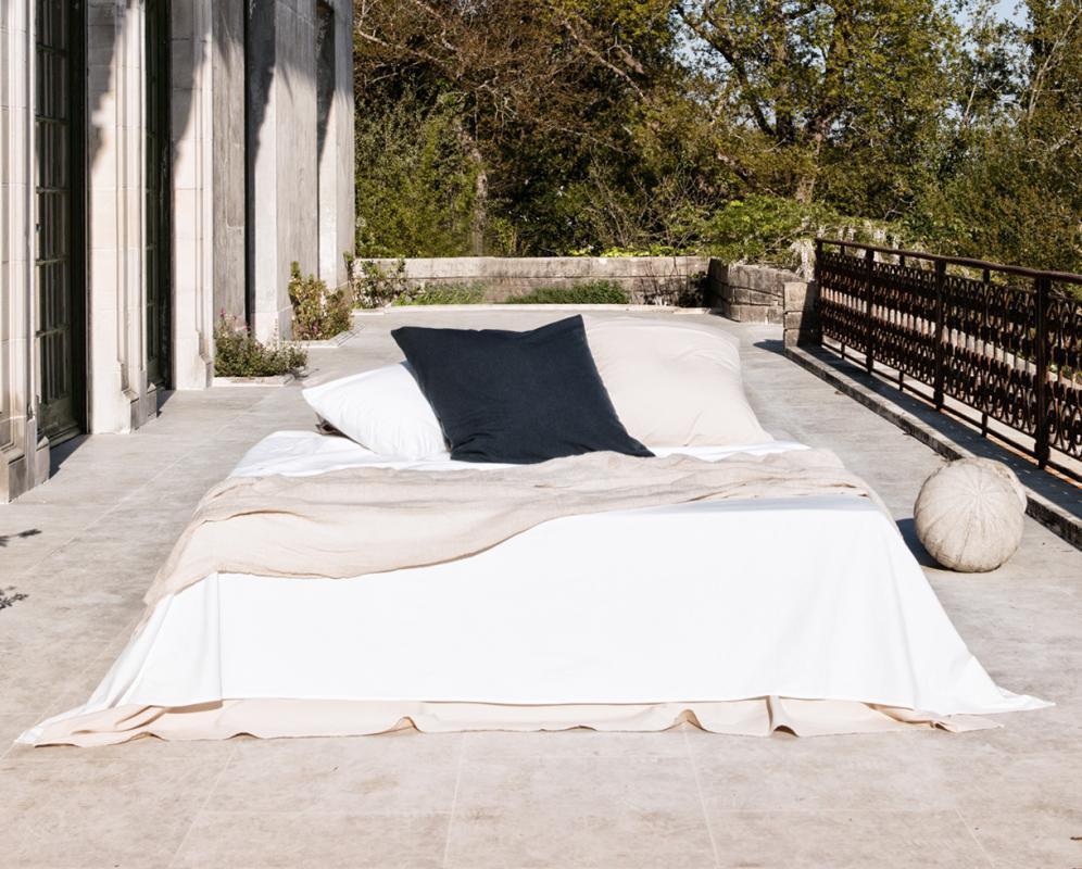 Bettdeckenbezug aus Bio-Baumwolle - Couleur Chanvre