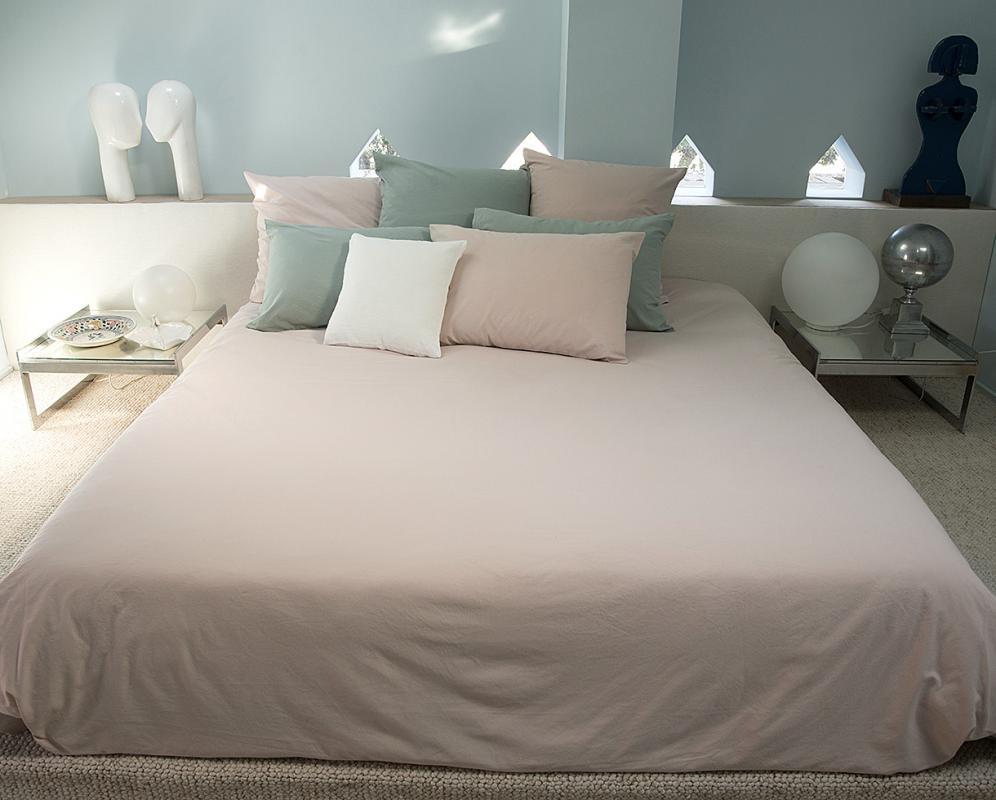 Organic cotton duvet cover - Couleur Chanvre
