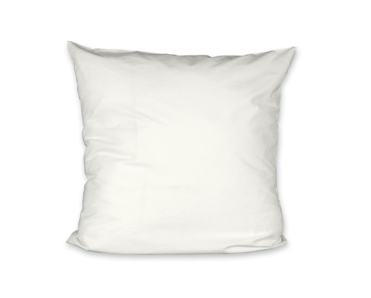 Organic cotton pillowcase Chalk - Couleur Chanvre