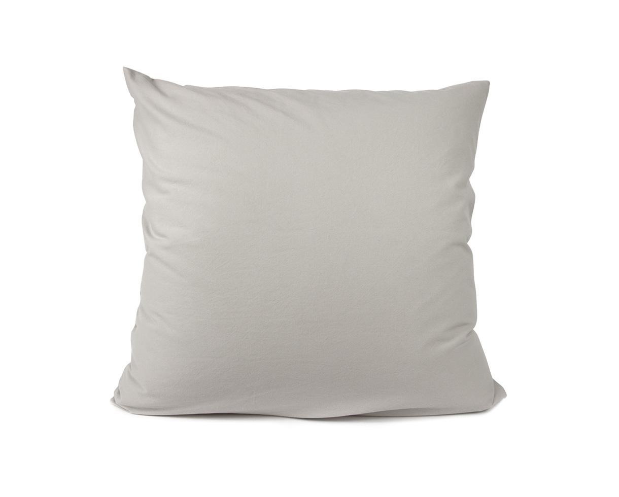 funda de almohada en algodón orgánico Arenisca - Couleur Chanvre