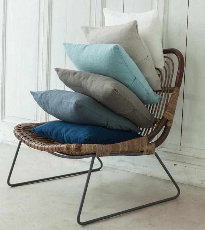 housse de coussin couleur chanvre. Black Bedroom Furniture Sets. Home Design Ideas