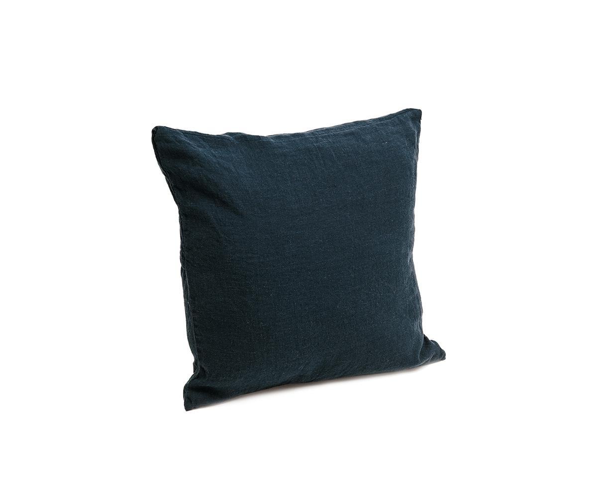 Plain Hemp Cushion Cover Couleur Chanvre
