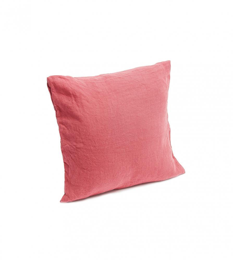 Housse de coussin en chanvre uni couleur chanvre for Housse de coussin original